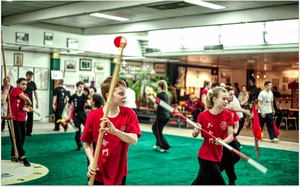 Kung fu kids staff
